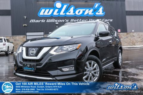 Certified Pre-Owned 2017 Nissan Rogue SV AWD - Sunroof, Rear Camera, Bluetooth, Heated Seats, Alloys & More!