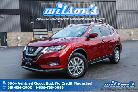 Certified Pre-Owned 2018 Nissan Rogue SV AWD Used, Sunroof, Heated Seats, Power Seat, Bluetooth, Rear Camera, Alloys and more!