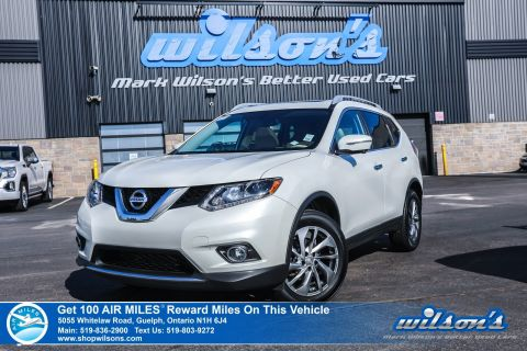 Certified Pre-Owned 2015 Nissan Rogue SL AWD Used - Leather, Navigation, Sunroof, Rear Camera, Bluetooth, Heated Seats, Alloys and more!
