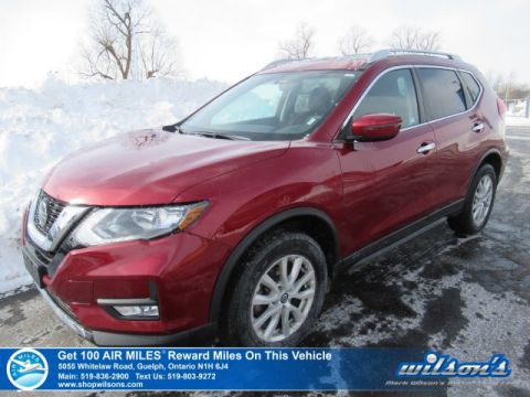 Certified Pre-Owned 2018 Nissan Rogue SV AWD - Sunroof, Rear Camera, Heated Seats, Power Seat, Bluetooth, Intelligent Key, and more!