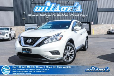 "Certified Pre-Owned 2015 Nissan Murano SV - Navigation, Bluetooth, Heated Seats, 18"" Alloys and more!"