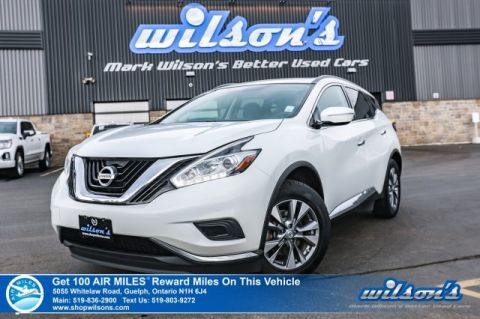 "Certified Pre-Owned 2015 Nissan Murano SV - Navigation, Bluetooth, Heated Seats, 18""Alloys, Cruise Control and more!"