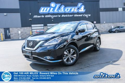 Certified Pre-Owned 2019 Nissan Murano SV AWD - Navigation, Sunroof, Bluetooth, Rear Camera,Heated Steering + Seats, Remote Start and more!