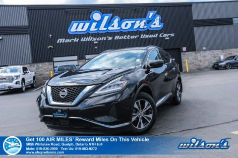 Certified Pre-Owned 2019 Nissan Murano SV AWD - Navigation, Panoramic Sunroof, Heated Steering + Seats, Remote Start and more!