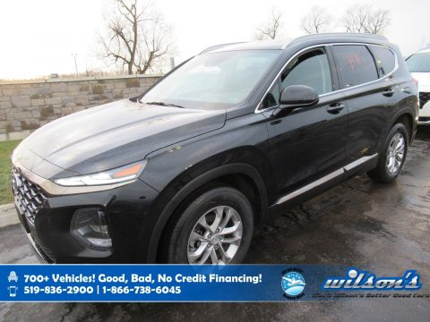 Certified Pre-Owned 2019 Hyundai Santa Fe Essential AWD, Heated Seats + Steering, Bluetooth, Rear Camera and more!