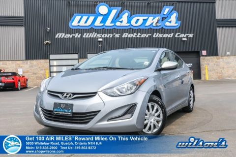 Certified Pre-Owned 2015 Hyundai Elantra L - VALUE PRICE! 6 Speed, New Tires, Power Windows, Power Locks, Power Mirrors, CD Player and more!
