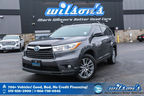 Certified Pre-Owned 2015 Toyota Highlander Hybrid XLE 4WD, Leather, Navigation, Sunroof, New Tires, Heated Seats, Power Liftgate, & more!