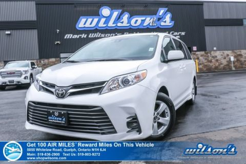 Certified Pre-Owned 2018 Toyota Sienna LE - 8 Passenger, Rear Camera, Bluetooth, Rear Air and Heat, Alloy Wheels and more!