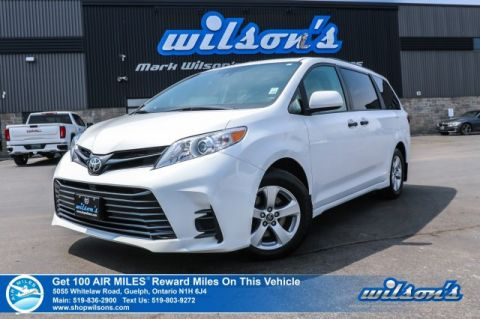 Certified Pre-Owned 2018 Toyota Sienna 7 Passenger V6 - Bluetooth, Rear Camera, Siri Eyes Free, Tri-Zone Automatic Climate Control, Alloys