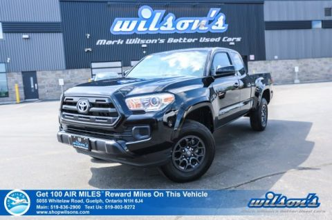 Certified Pre-Owned 2017 Toyota Tacoma SR+ Access Cab, Rear Camera, Bluetooth, Alloy Wheels and more!