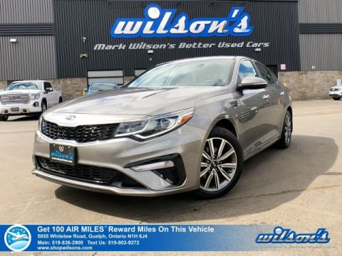 Certified Pre-Owned 2019 Kia Optima LX+ with Heated Steering & Seats, Android Auto & Apple Carplay, Blind Spot, Forward Collision