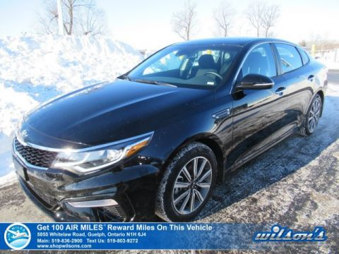 Certified Pre-Owned 2019 Kia Optima LX Plus - Rear Camera, Heated Steering / Seats, Android Auto / Apple CarPlay, Blind Spot, and more!