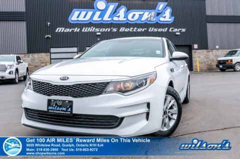 Certified Pre-Owned 2018 Kia Optima LX – Bluetooth, Heated Seats, Cruise Control, Steering Radio Controls, Alloys & More!