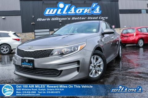 Certified Pre-Owned 2018 Kia Optima LX - NEW TIRES! Bluetooth, Heated Seats, Cruise Control, Steering Radio Controls, Alloys & More!