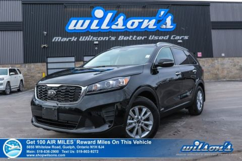 Certified Pre-Owned 2019 Kia Sorento LX | AWD | HEATED SEATS | BLUETOOTH | CRUISE CONTROL | POWER PACKAGE | ALLOYS