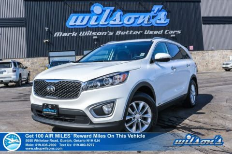 Certified Pre-Owned 2018 Kia Sorento LX AWD - Rear Camera, Bluetooth, Heated Seats, Alloys, Rear Park Assist, New Tires & more!