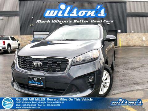 Certified Pre-Owned 2019 Kia Sorento LX V6 AWD - Third Row Seating, Heated Steering + Seats, Android Auto & Apple CarPlay, Power Seat