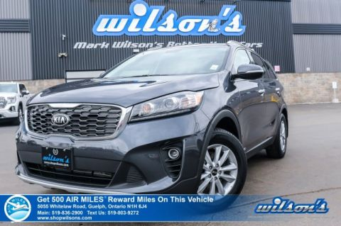 Certified Pre-Owned 2019 Kia Sorento EX AWD – 7 Passenger, Leather, Rear Camera, Bluetooth, & More!