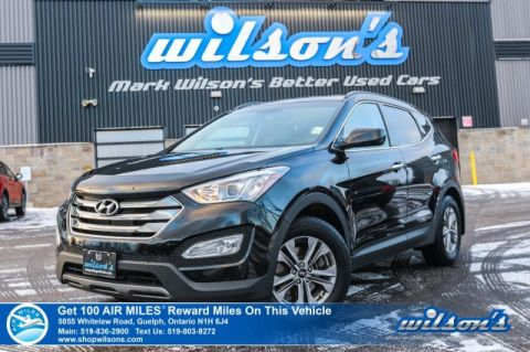 Certified Pre-Owned 2016 Hyundai Santa Fe 2.0T Premium AWD - Heated Steering & Seats, Alloys, Cruise Control, Power Group.