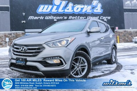 Certified Pre-Owned 2018 Hyundai Santa Fe SE AWD - Leather, Sunroof, Rear Camera, Bluetooth, Heated Steering & Seats, Plus Lots More!