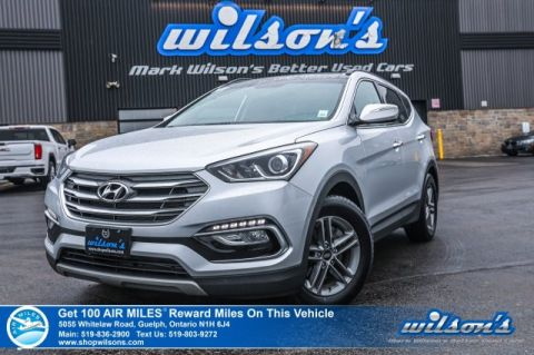 Certified Pre-Owned 2018 Hyundai Santa Fe Sport Luxury AWD - Leather, Navigation, Sunroof, Heated Steering + Seats, Rear Camera, Bluetooth