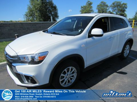 Certified Pre-Owned 2018 Mitsubishi RVR SE Used 4x4 – New Tires! Rear Camera, Bluetooth, Apple CarPlay + Android Auto and More!