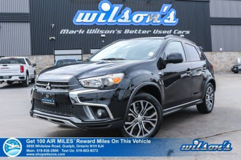 Certified Pre-Owned 2018 Mitsubishi RVR SE LIMITED 4WD - Bluetooth, Heated Seats, Android Auto+Apple CarPlay, Rear Camera and More!