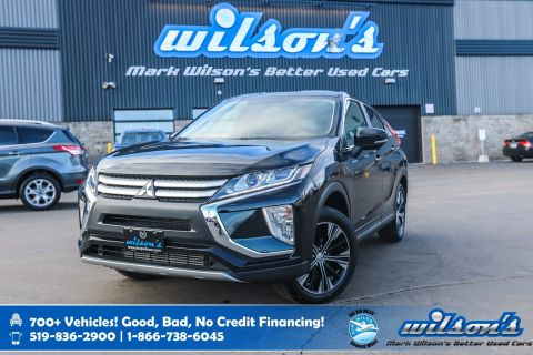 Certified Pre-Owned 2019 Mitsubishi Eclipse Cross ES AWD, Heated Seats, Bluetooth, Rear Camera, Alloy Wheels and more!