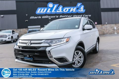 Certified Pre-Owned 2018 Mitsubishi Outlander ES – Rear Camera, Bluetooth, Heated Seats & Mirrors, Apple CarPlay & Android Auto