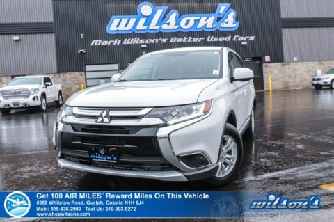 Certified Pre-Owned 2018 Mitsubishi Outlander ES 4WD – Rear Camera, Bluetooth, Apple CarPlay & Android Auto, Heated Seats, Plus More!