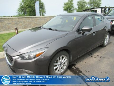 Certified Pre-Owned 2018 Mazda3 GS - NEW TIRES! Navigation, Heated Seats, Bluetooth, Cruise Control, Alloys and more!