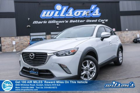 Certified Pre-Owned 2016 Mazda CX-3 GS - Leather, Sunroof, Rear Camera, Bluetooth, Alloys and more!