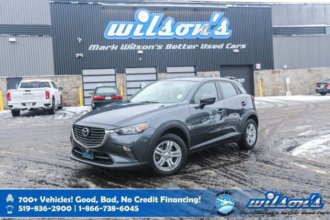 Certified Pre-Owned 2016 Mazda CX-3 GX, Navigation, Rear Camera, Bluetooth, Cruise Control, Alloys, Keyless Entry, Power Package & more!