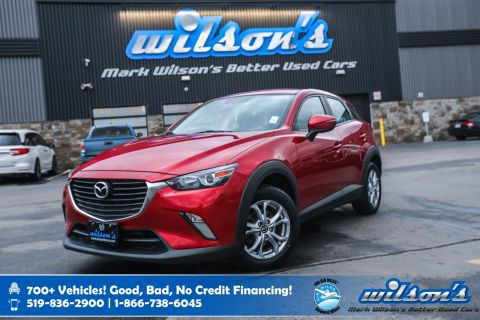 Certified Pre-Owned 2016 Mazda CX-3 GS, Navigation, Rear Camera, Heated Seats, New Tires, Bluetooth, Alloy Wheels and more!