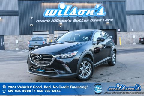 Certified Pre-Owned 2017 Mazda CX-3 GS, Rear Camera, Heated Seats, Bluetooth, Alloys, Cruise Control, Power Package and more!