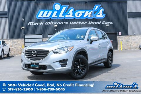 Certified Pre-Owned 2016 Mazda CX-5 GX, 6 Speed, Steering Radio Controls, Cruise Control, Alloys, Power Package and more!
