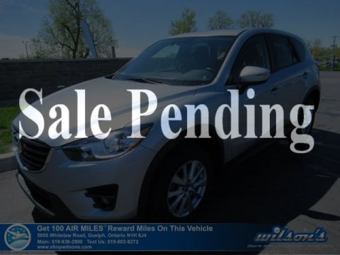 Certified Pre-Owned 2016 Mazda CX-5 GS Automatic - Navigation, Sunroof, Bluetooth, Rear Camera, Blind Spot Monitor & More