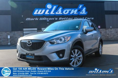 Certified Pre-Owned 2015 Mazda CX-5 GS AWD - Sunroof, Heated Seats, Alloys, Power Package, Cruise Control and more!