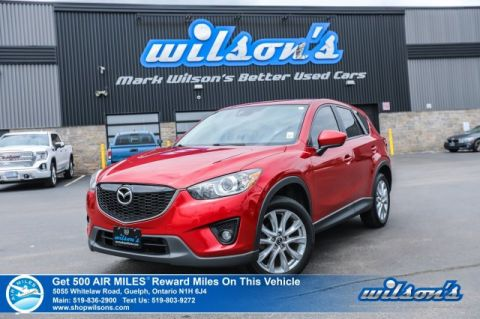 Certified Pre-Owned 2014 Mazda CX-5 GT AWD - Leather, Sunroof, Navigation, Rear Camera, Bluetooth, NEW TIRES!