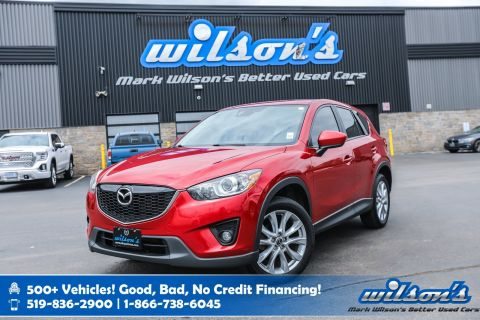 Certified Pre-Owned 2014 Mazda CX-5 GT AWD w/New Tires! Bose Speakers! Leather, Navigation, Sunroof, Rear Camera, Bluetooth, Bose Audio!
