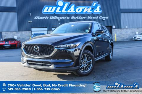 Certified Pre-Owned 2017 Mazda CX-5 GX with 19,000km!! Bluetooth, Rear Camera, Cruise Control, Alloys & More!