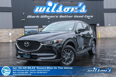 Certified Pre-Owned 2017 Mazda CX-5 GX - Rear Camera, Bluetooth, Cruise Control, Alloys, Power Package and more!