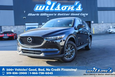 Certified Pre-Owned 2017 Mazda CX-5 GX, Rear Camera, Bluetooth, Cruise Control, Alloys, Power Package and more!