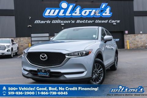 Certified Pre-Owned 2017 Mazda CX-5 GS AWD with New Tires! Leather Trim, Sunroof, Rear Camera, Bluetooth, Power Seat, Alloys and more!
