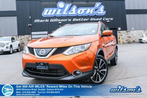 Certified Pre-Owned 2018 Nissan Qashqai SL AWD - Leather, Navigation, Sunroof, Heated Steering + Seats, Rear Camera, Bluetooth and more!