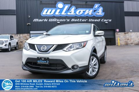 Certified Pre-Owned 2018 Nissan Qashqai SV AWD - Sunroof, Heated Steering + Seats, Remote Start, Blind Spot Warning, and more!