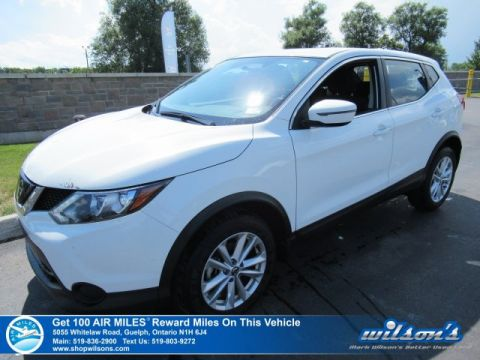 Certified Pre-Owned 2019 Nissan Qashqai S AWD - Rear Camera, Bluetooth, Blindspot Monitor, Apple CarPlay, Android Auto and more!