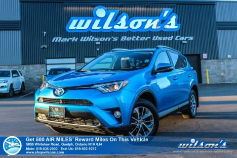 Certified Pre-Owned 2016 Toyota RAV4 XLE Hybrid AWD - Sunroof, Rear Camera, Bluetooth, Blind Spot Monitor, Heated Seats & More!