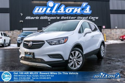 Certified Pre-Owned 2018 Buick Encore Preferred - Rear Camera, Bluetooth, Apple Car Play, Steering Radio Controls & More!