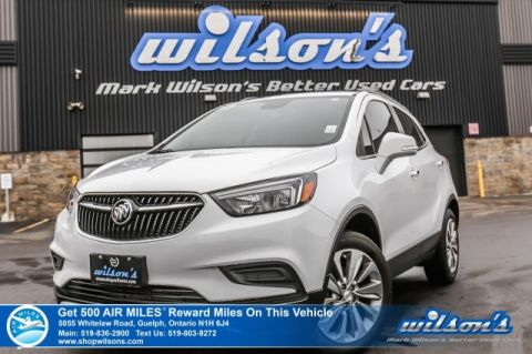 Certified Pre-Owned 2018 Buick Encore Preferred AWD - Bluetooth, Rear Camera, Apple CarPlay, Steering Radio Controls & Lots More!